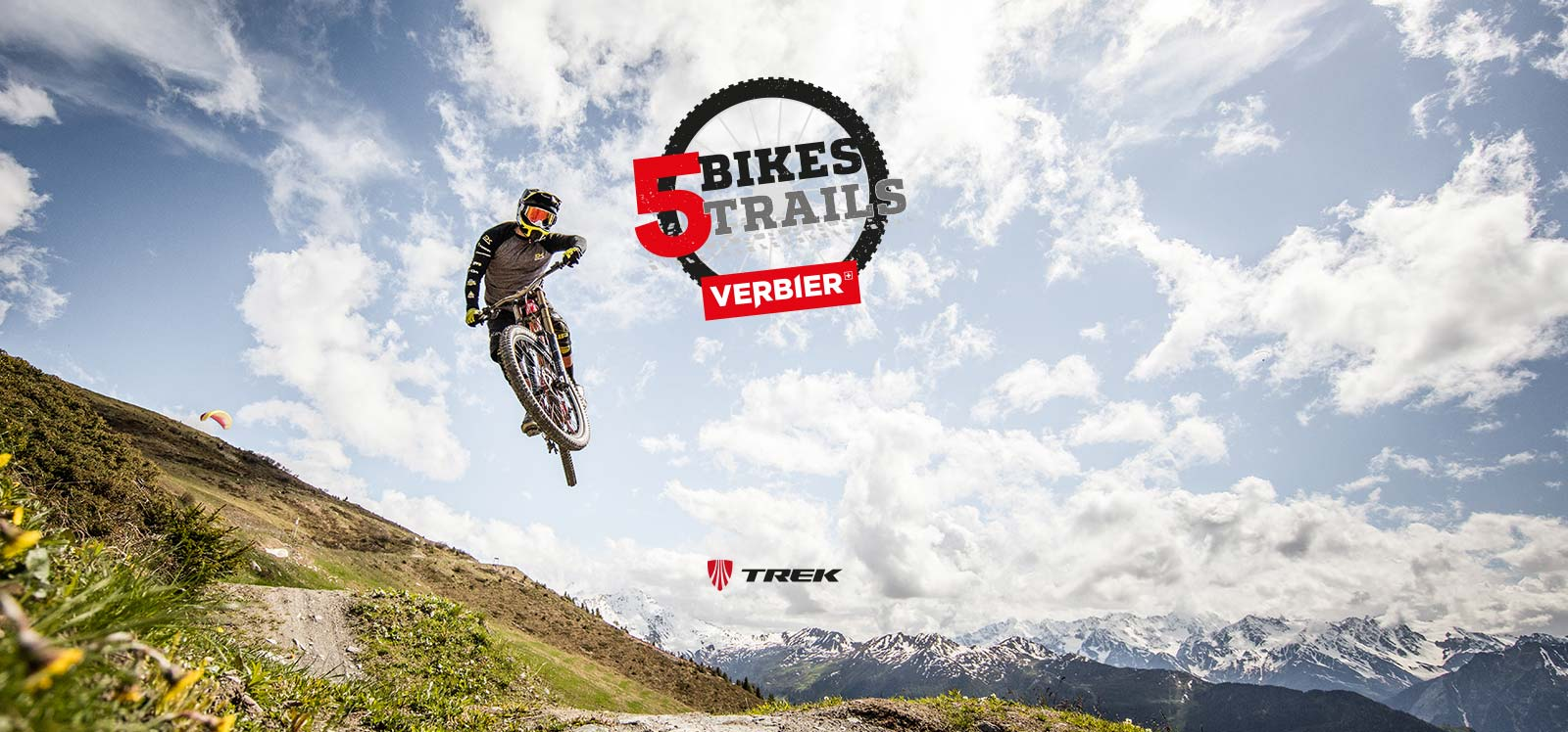 5 bikes for 5 trails