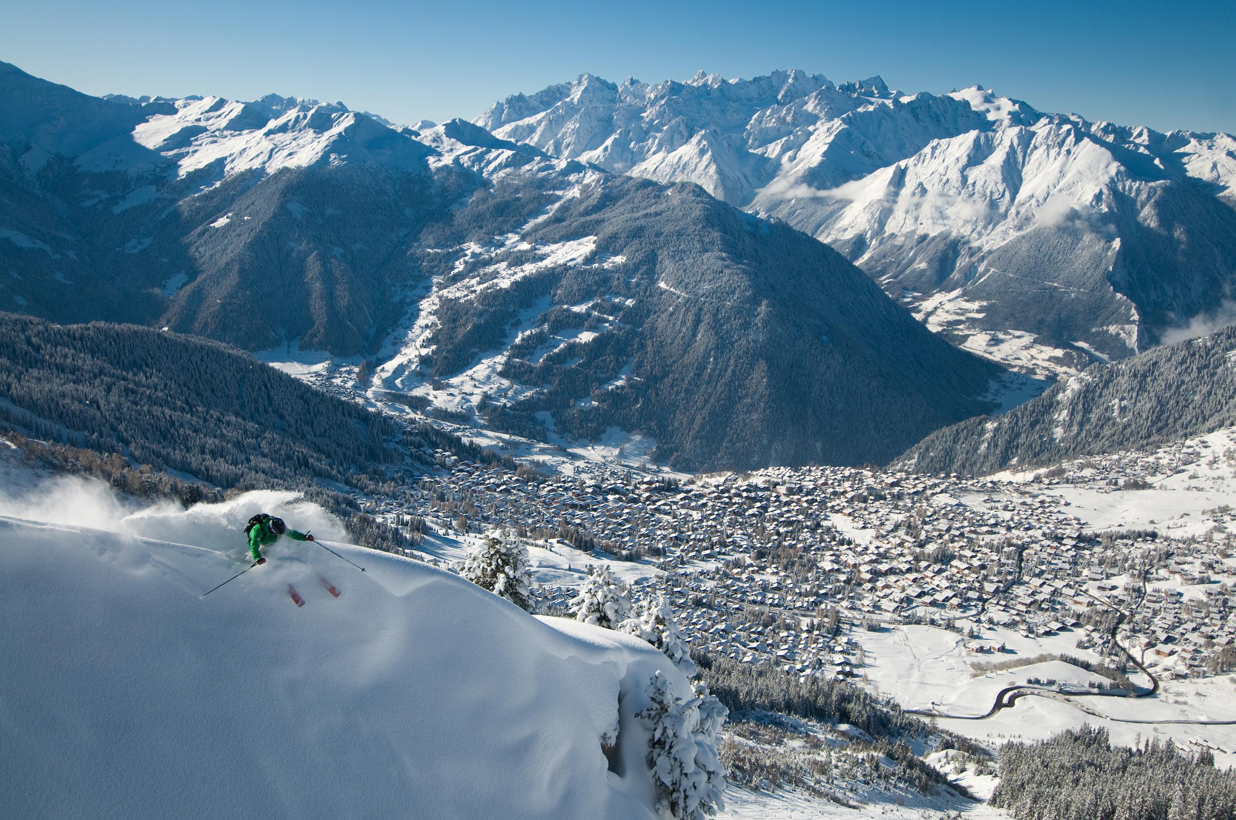 photo ski home